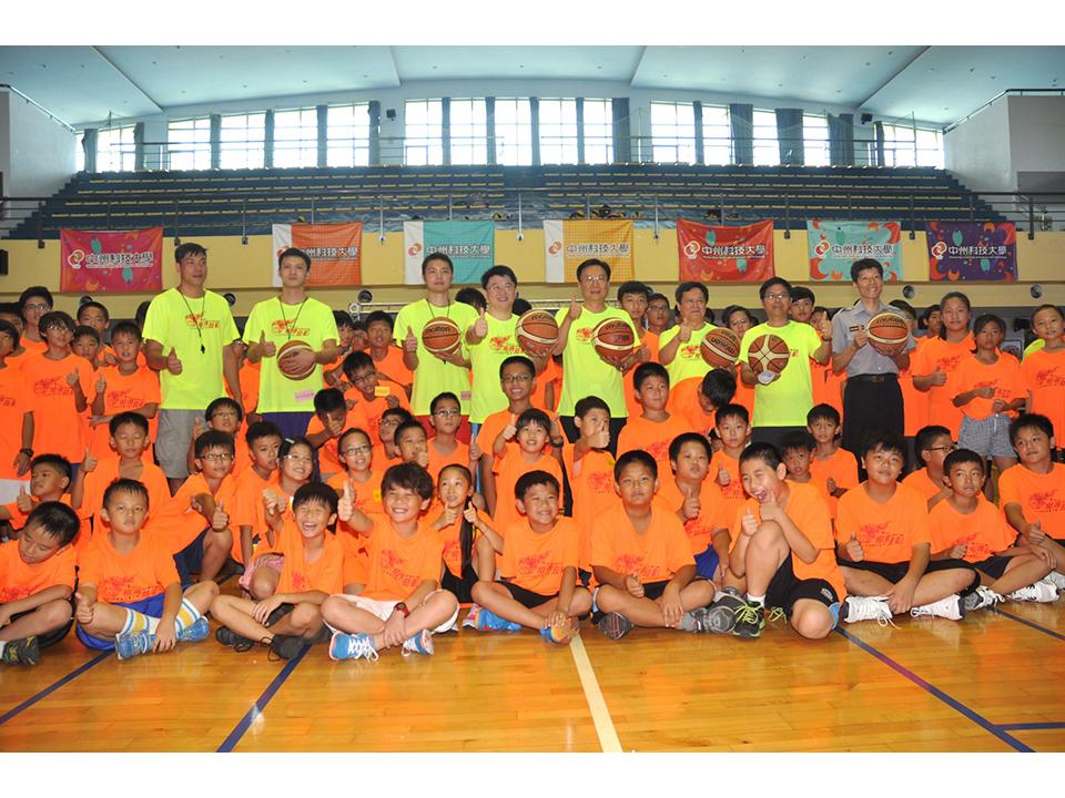 中州SBL球星籃球夏令營 打造運動島一睹球星風采