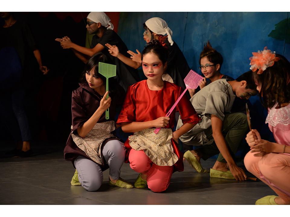 海聲華德福實驗中小學九年級學生戲劇公演