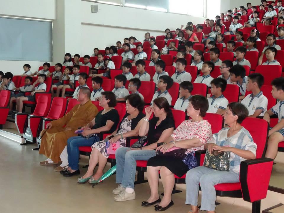 彰化縣觀護協會輔導青少年  舉辦兒少品格佛學營