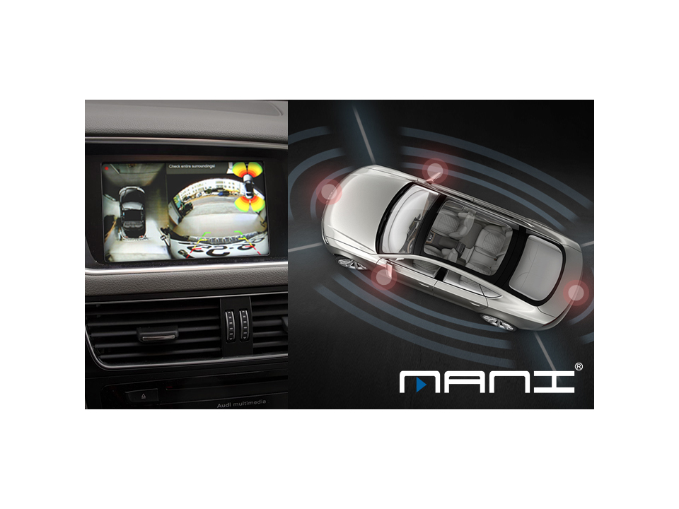 MANI 環景影像行車輔助系統  開車就像打電動