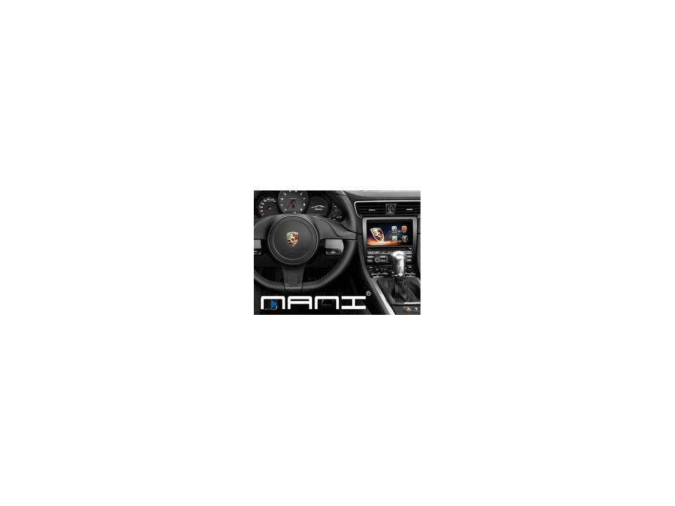 MANI保時捷影音升級方案採一體機