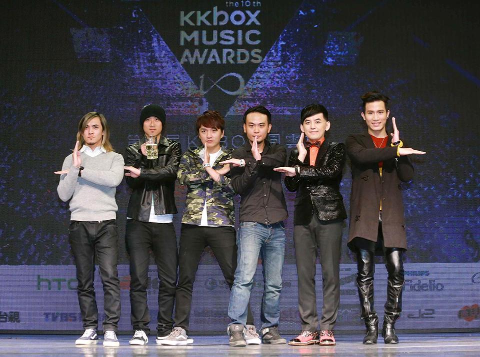 KKBOX風雲榜搶先揭曉兩大獎 滅火器奪獨立創作獎
