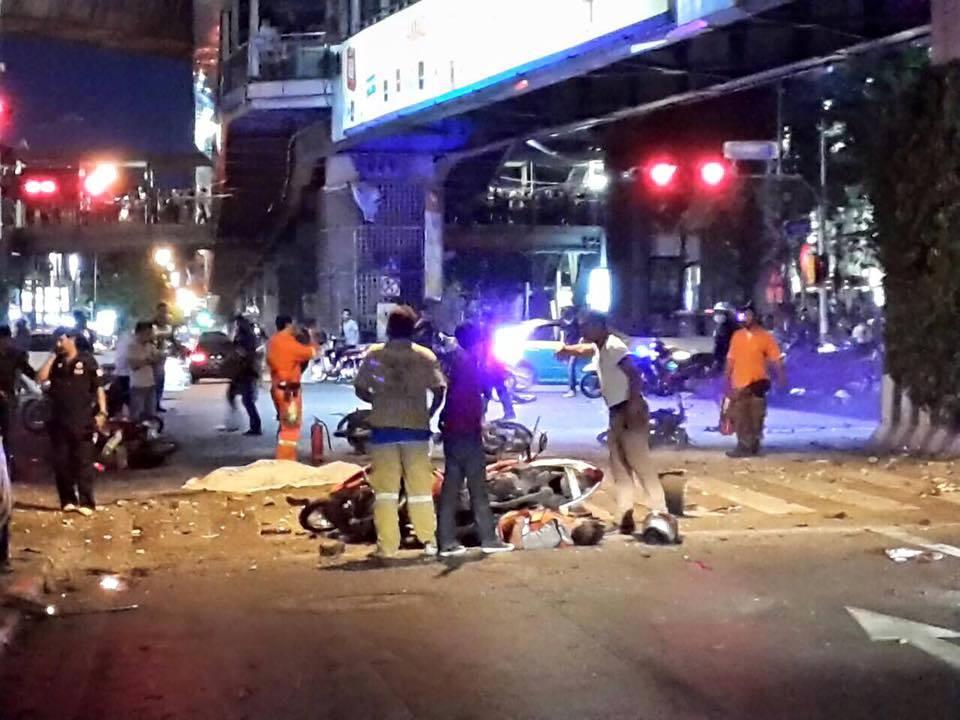 泰國曼谷曼谷爆炸 已知27死78傷