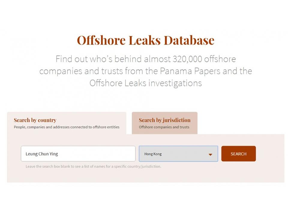 《巴拿馬文件》資料庫上線 20萬家離岸公司現蹤