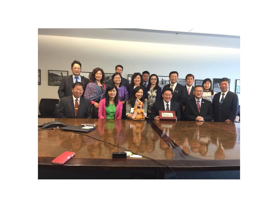 彰化市長訪西雅圖 盼藉媽祖情緣加強兩市交流