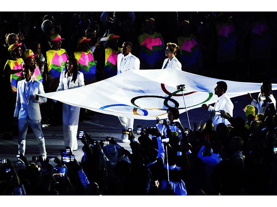 里約奧運絢爛開幕 聖火正式點燃典禮華麗收尾