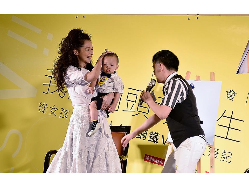 徐若瑄首度出書遇強颱 婚姻保鮮深夜醒來也能做!