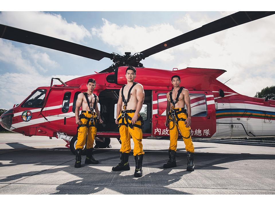 年終壓軸! 彰化縣消防局2019年消防月曆正式發布