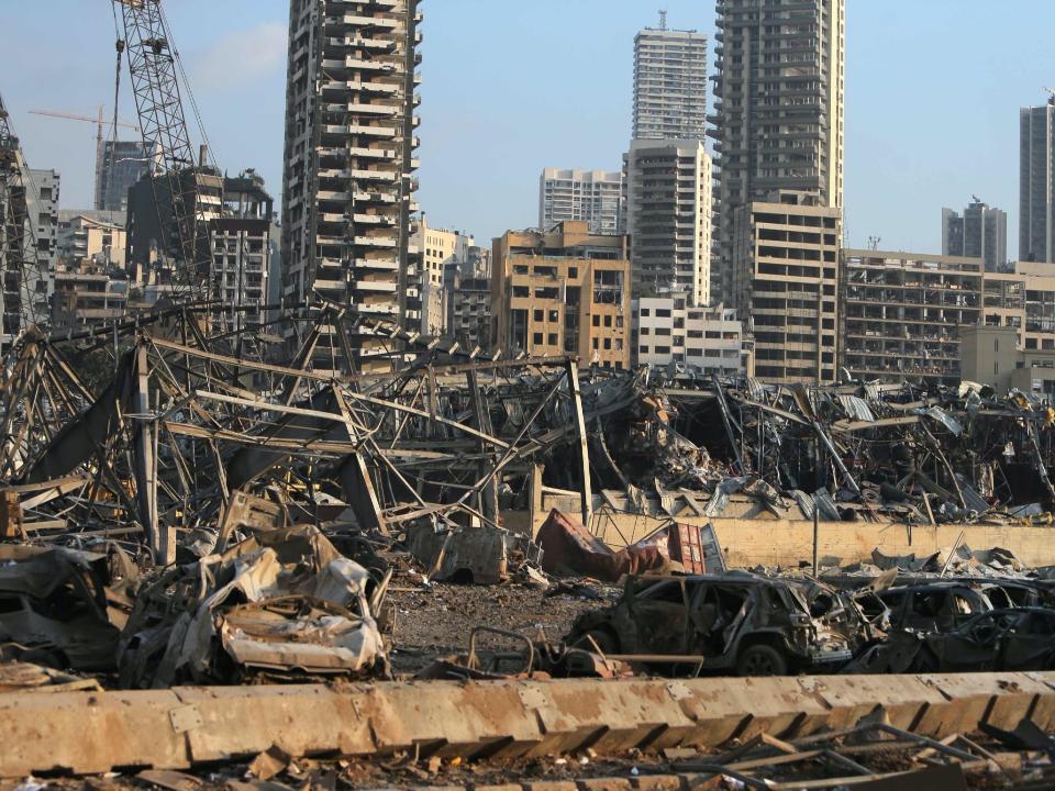 城市爆彈!黎巴嫩貝魯特港大爆炸幾乎夷平 市中心一片狼籍100死4000傷