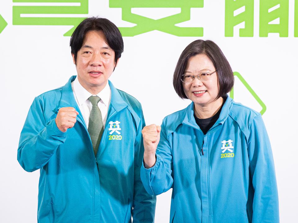 「蔡賴配」成軍出戰2020 國民黨不懂蔡賴配!
