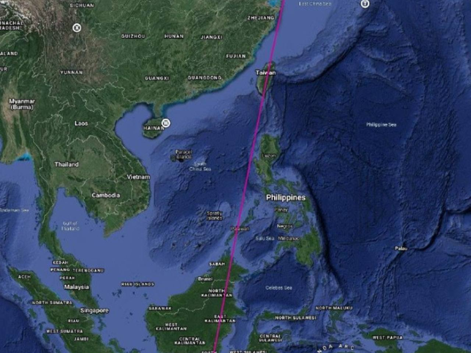 共軍火箭飛過台灣 國防部:充分掌握