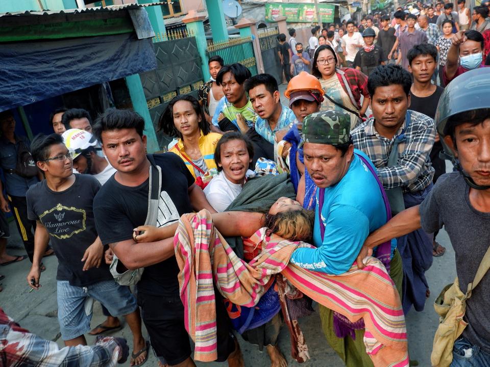 血腥緬甸開殺戒!39死 火燒台資工廠