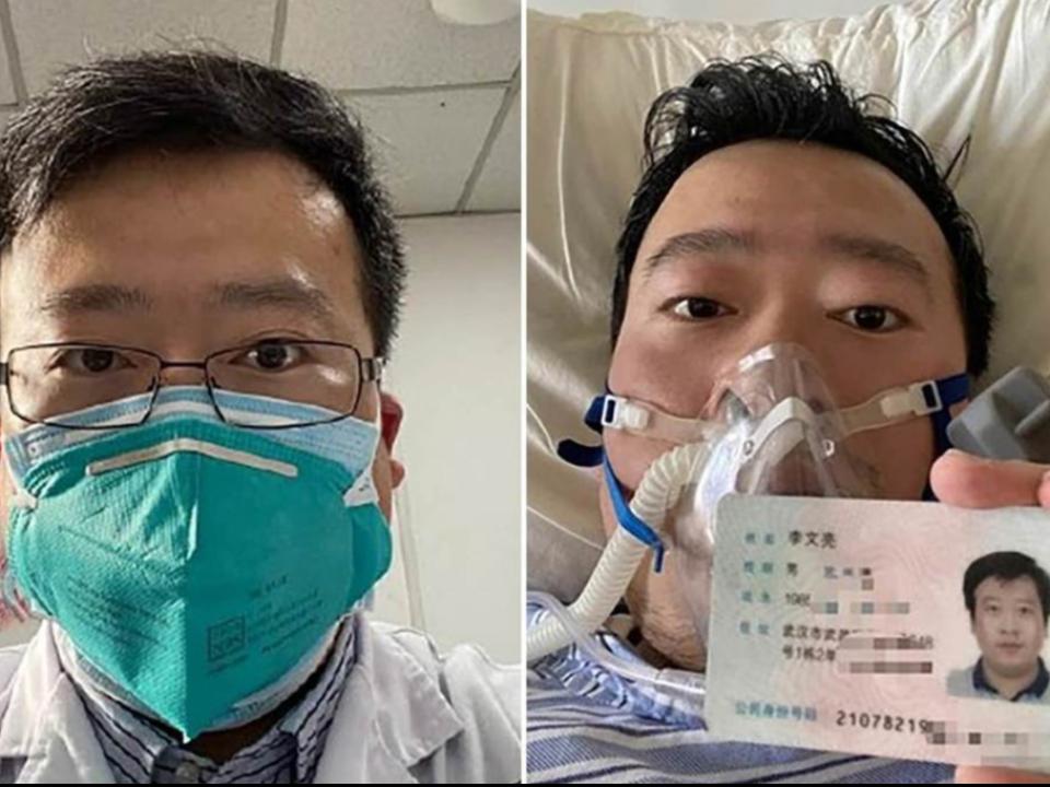 中國官僚體制的犧牲者 李文亮染武漢肺炎7日凌晨病逝