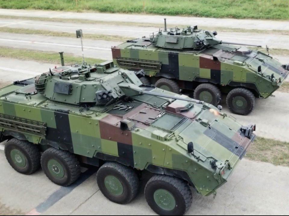 有機密計畫?30鏈砲車多生產21輛 疑中樞防衛需求