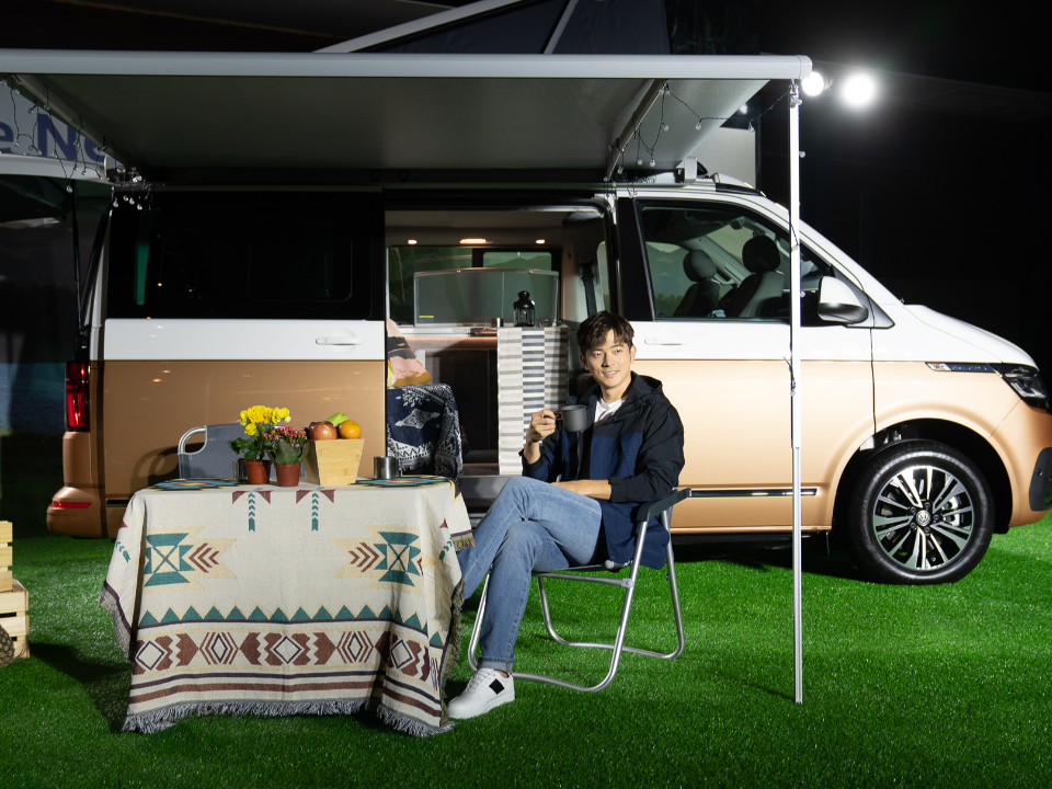 福斯商旅夢幻露營車讓宥勝捨豪宅 T6.1 Caravelle全台限量發表
