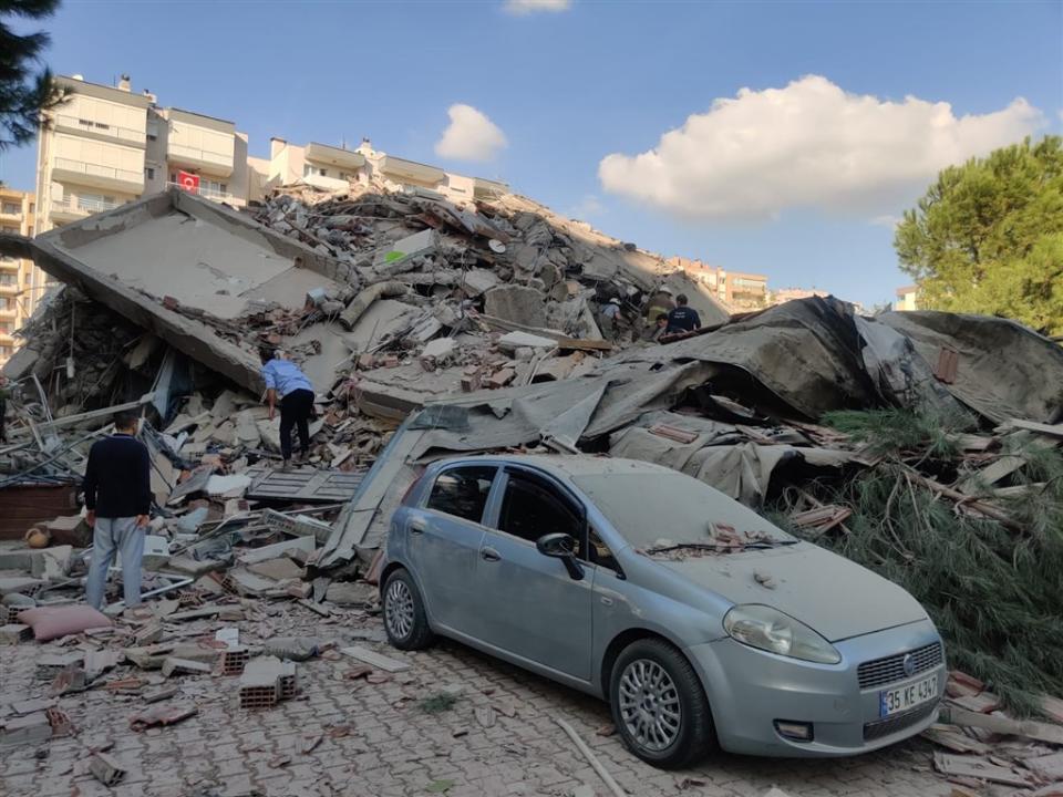 7.0強震!土耳其希臘已多處倒塌