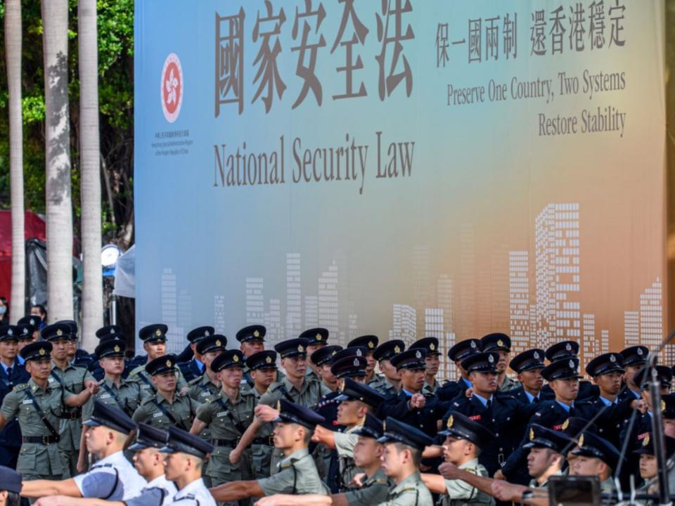 港版國安法侵犯8大人權 台灣人觸法過境恐被捕