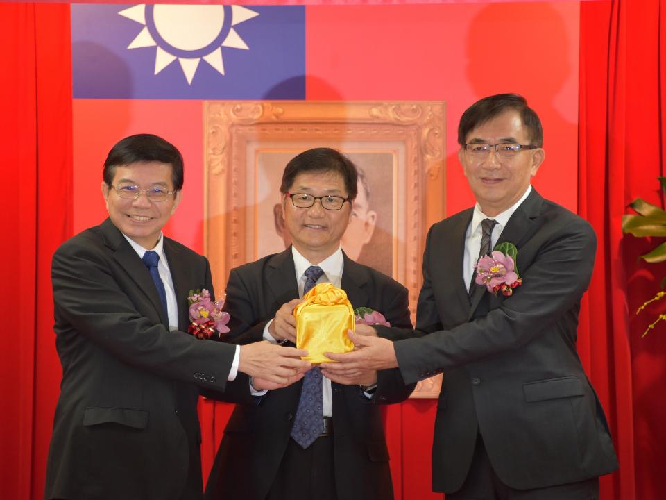 中華郵政公司新任董事長吳宏謀6月28日到任