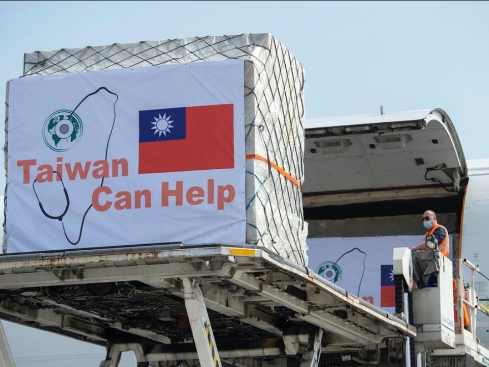 「來自台灣的攻擊」國旗登歐盟  台灣人民很驕傲