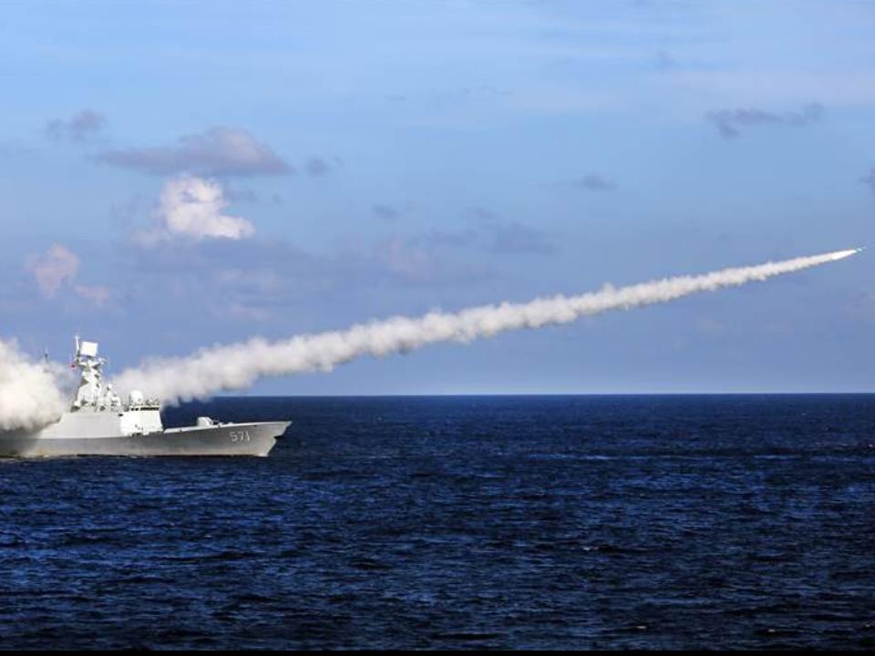 中國南海試射飛彈 美國:違背承諾