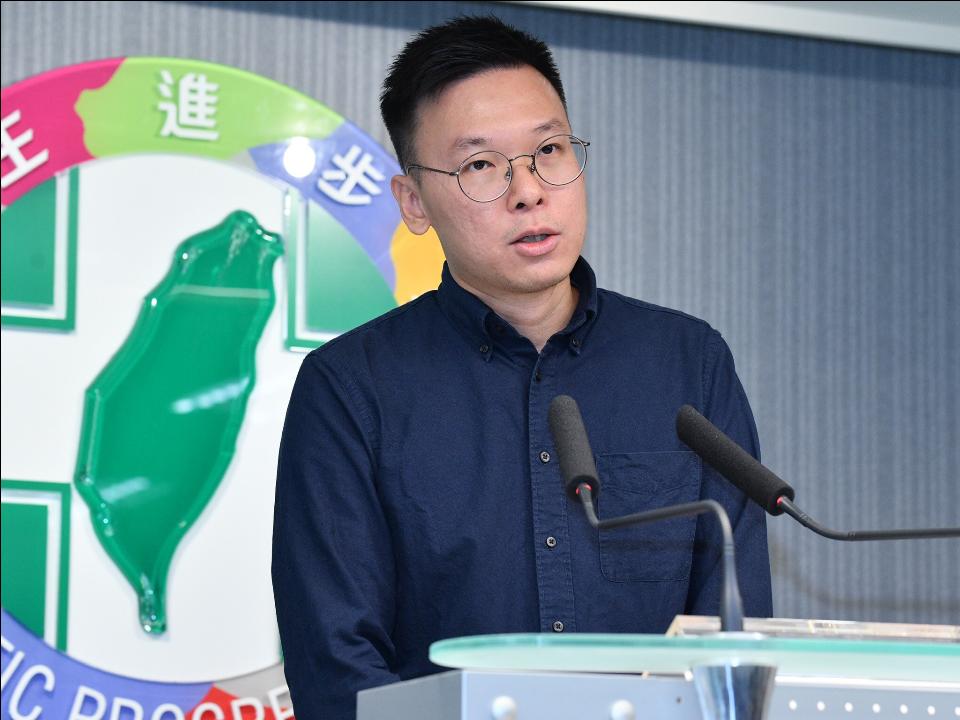 入民進黨接任副秘 林飛帆:對抗陸滲透戰、打贏2020