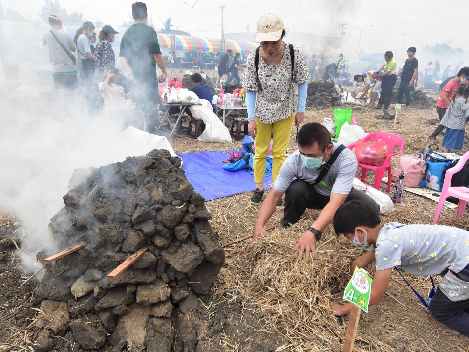福興黃金地瓜文化節 吸引5千人潮到場