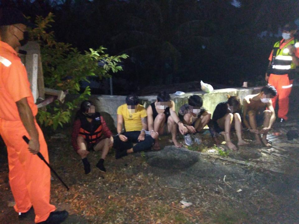 30多人偷渡墾丁 27越南人5船員被逮