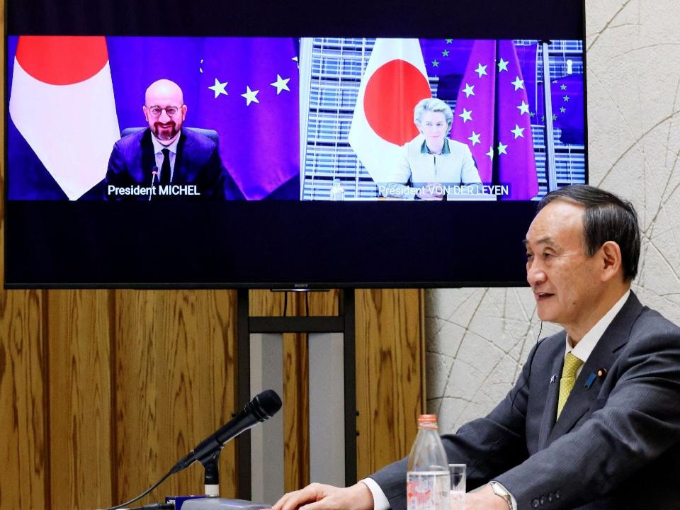 日本考慮賣AZ疫苗給台灣 消息人士:日相官邸參與推動