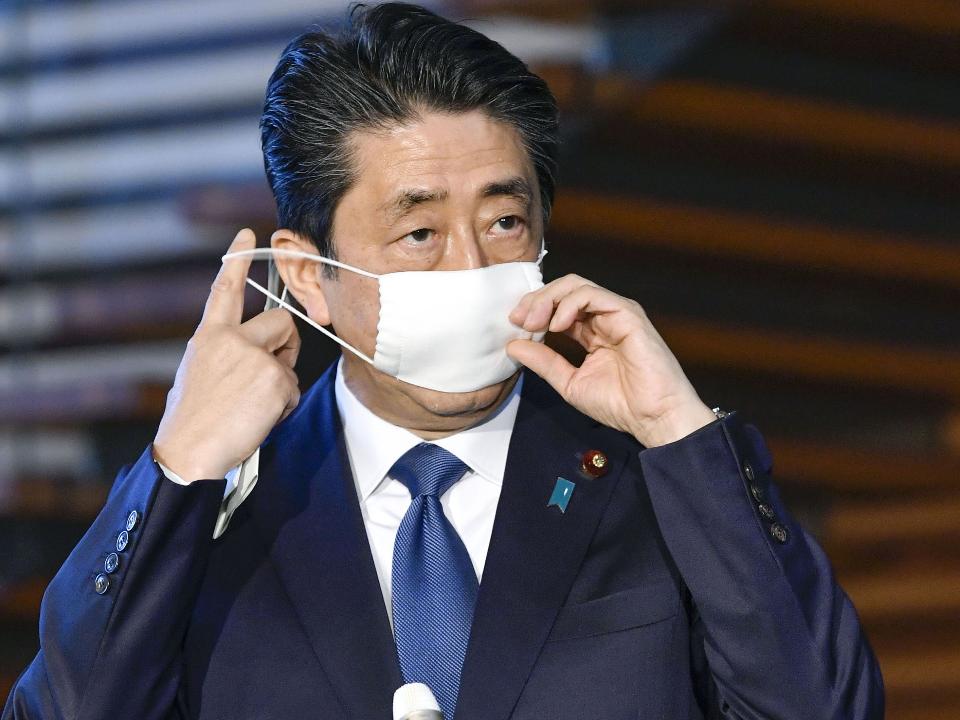 日本安倍宣布緊急事態宣言 發布30.2兆紓困計畫