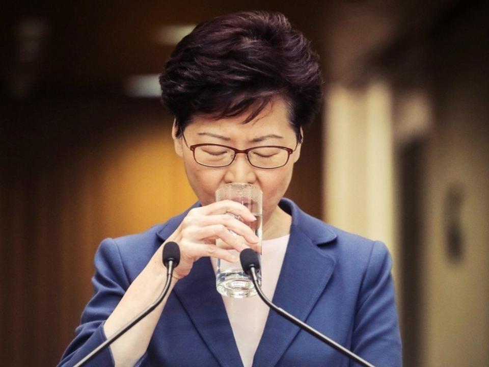 林鄭月娥承認修例完全失敗 中國封鎖新聞