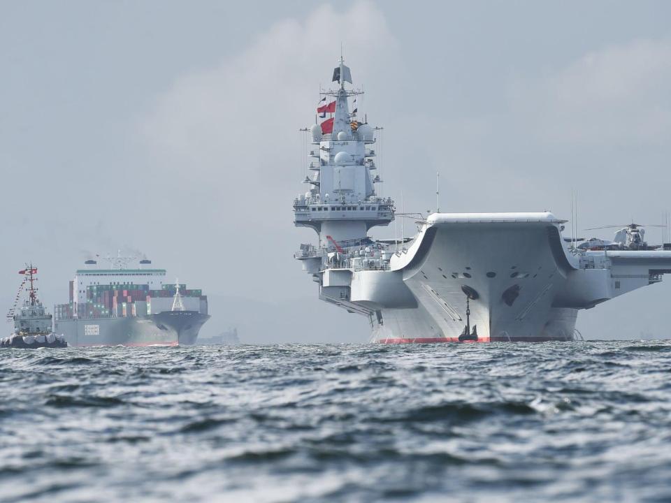 中國第三艘航母影像曝光 規模亞洲最大