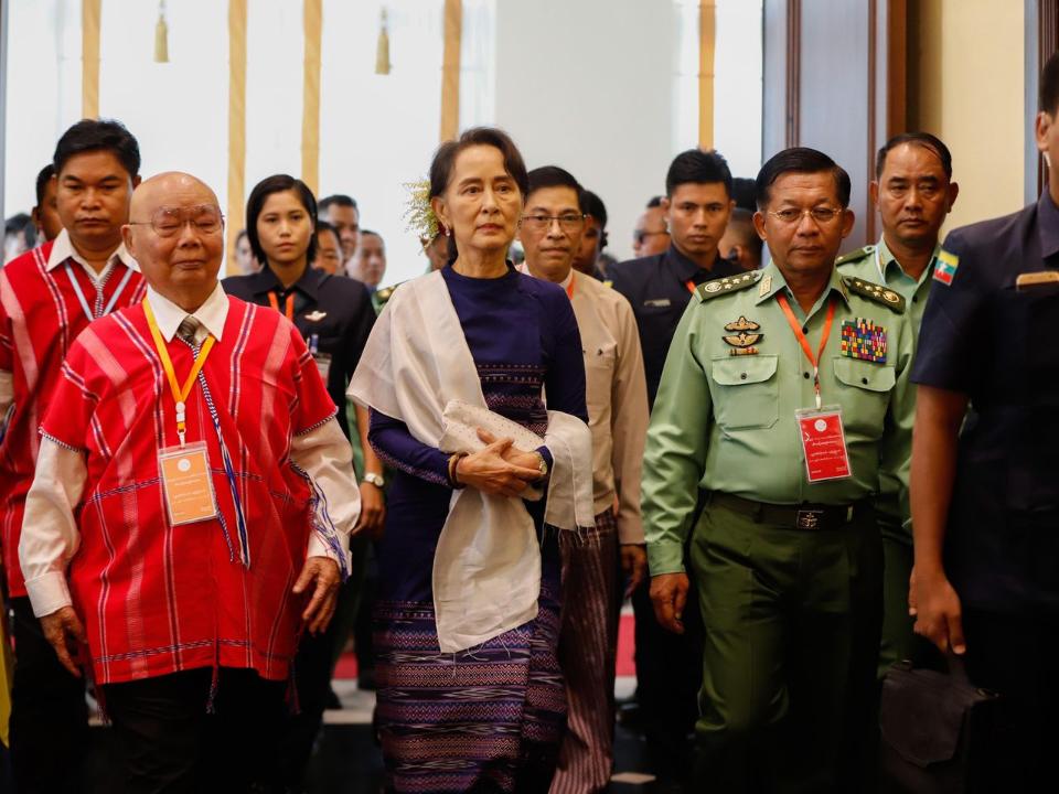 緬甸軍事政變! 逮捕政府高層 武裝部隊總司令掌權
