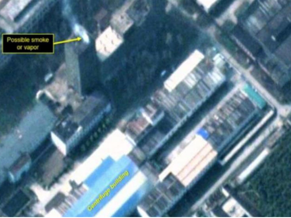 神祕煙霧?專家:北韓恐爆核災