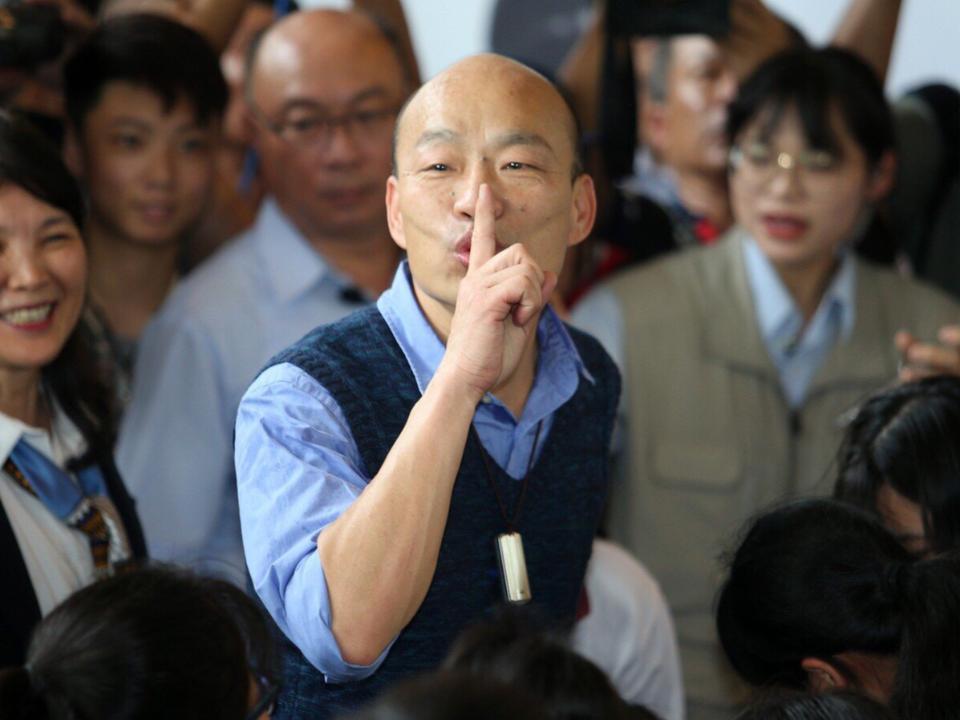 美中台關係創新比喻 韓國瑜籲台灣要當「泡澡塞子」