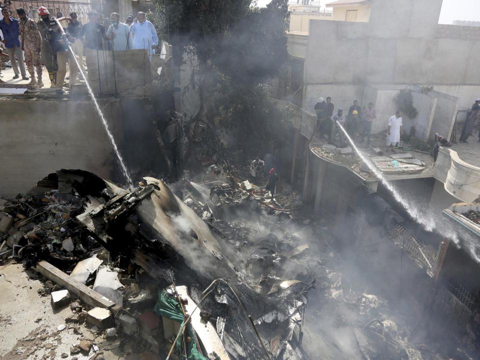 巴基斯坦國航客機墜毀 機上107人全數罹難