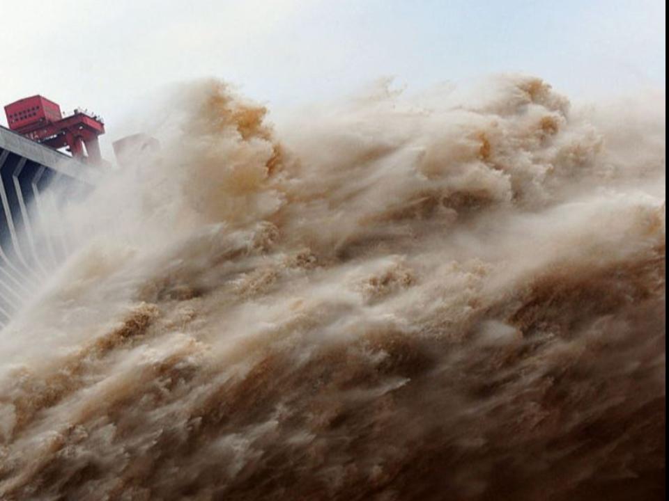 三峽大壩洩洪爆淹三省!「鳳凰古城」慘淹沒