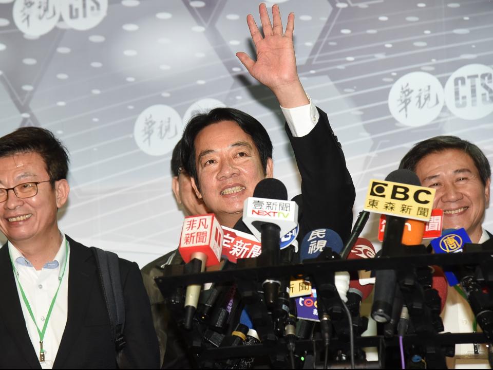 賴清德籲柯文哲韓國瑜:公開宣示反對一國兩制