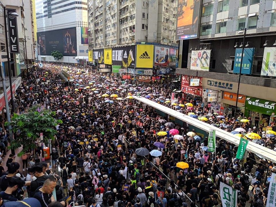中國提港版國安法是最大的核彈 民陣號召200萬人上街救香港