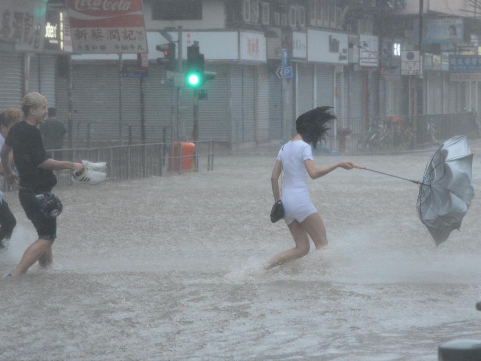 雷雨胞趨近台灣!高雄強降雨達365毫米