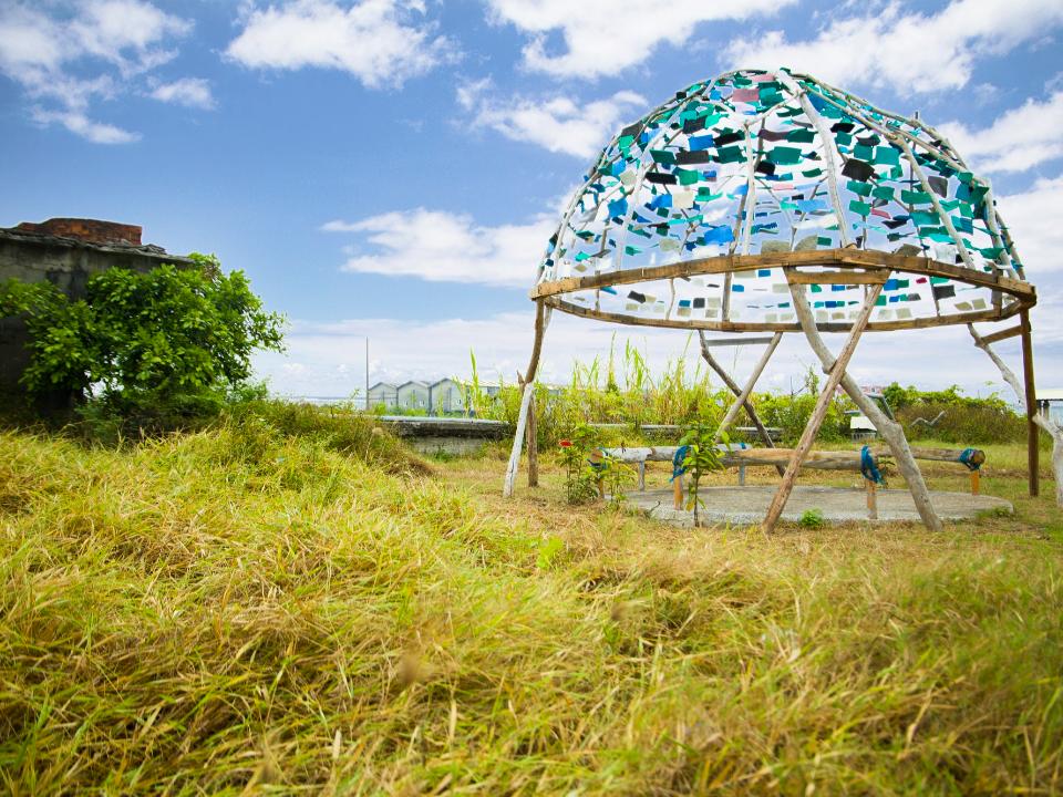 東港南平旅遊新亮點 遊走漁村海漂藝術