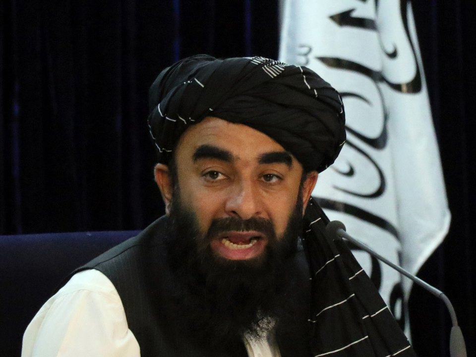 塔利班新內閣 FBI通緝犯變部長
