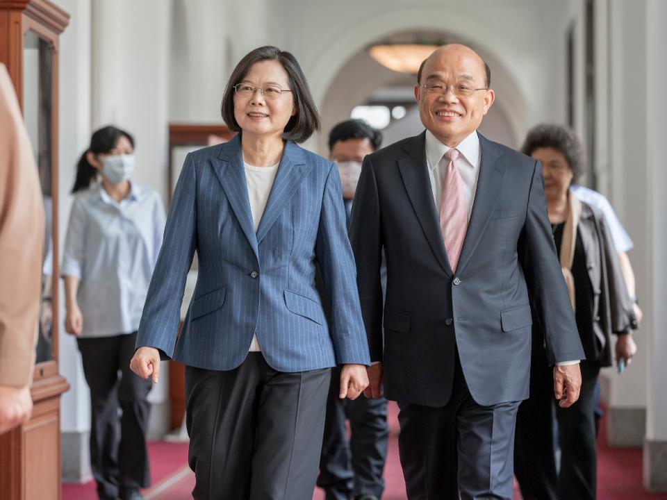 蘇貞昌率內閣總辭 國發會主委陳美伶確定不續任