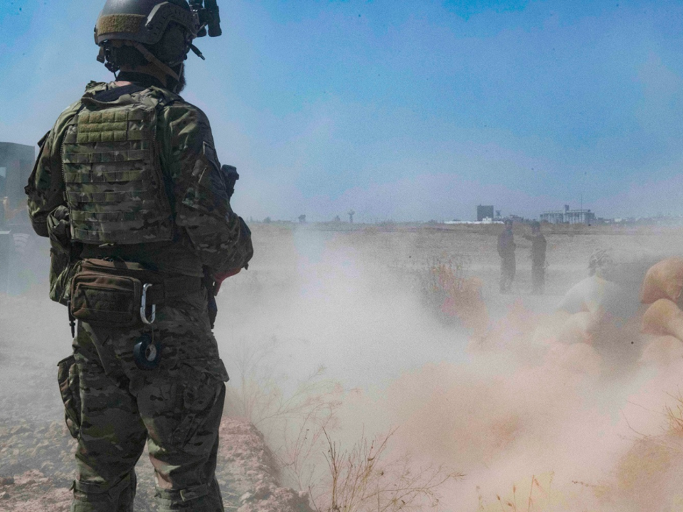 防敘利亞油田落伊斯蘭國 美軍重返敘利亞