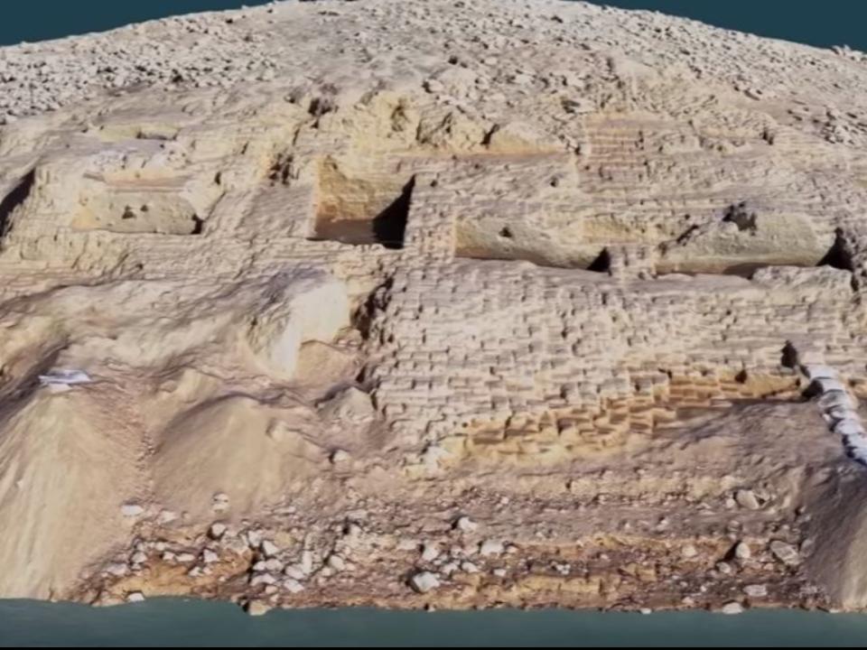 神秘王國現身!乾旱水庫浮現3400年水底的古城