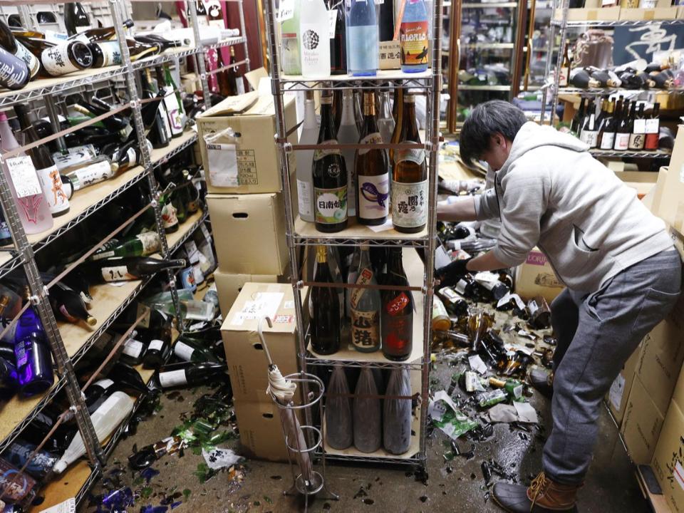 日本7.1大地震狂搖「真的怕爆」