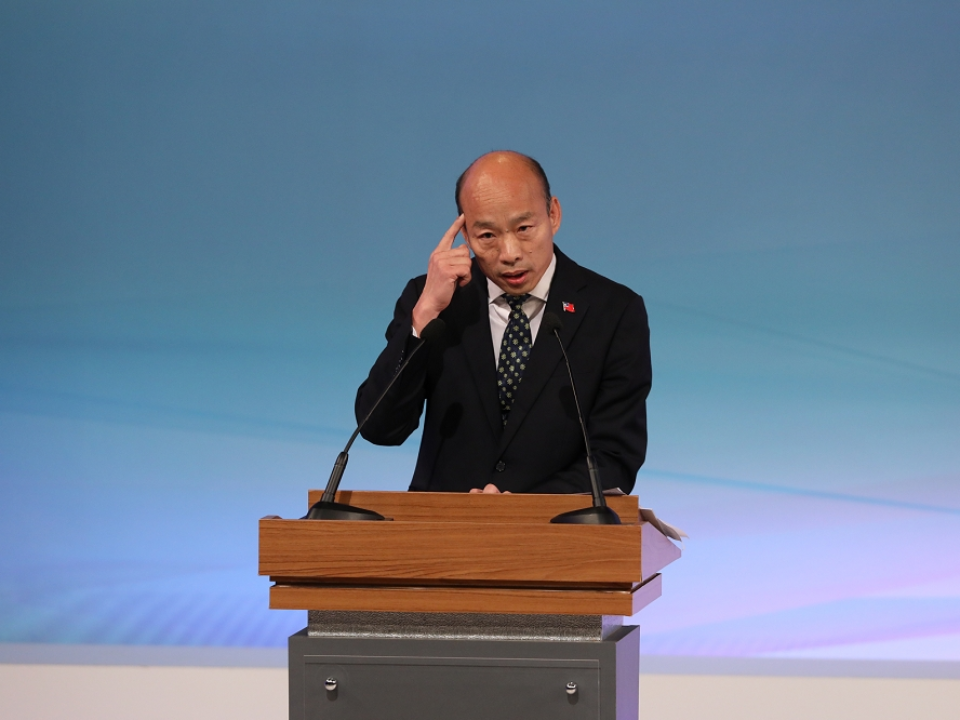 總統辯論會韓國瑜狂開砲  事實查核中心點出多項實情不符爭議