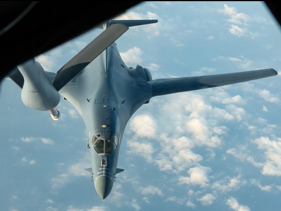 破天荒!美轟炸機掠過台東北方 目標大陸東海