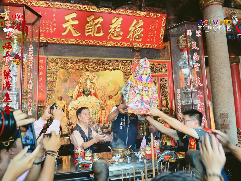 彰化南瑤宮二媽五笨港進香 祖家媽換龍袍200年傳統