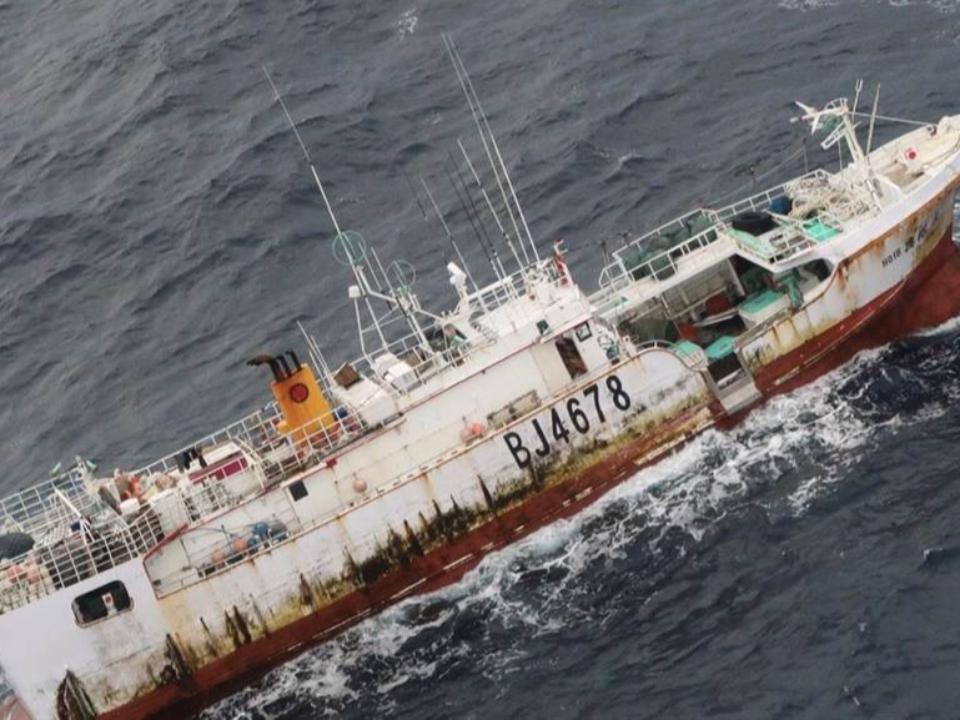 台船失聯 美方尋獲「看不到人」