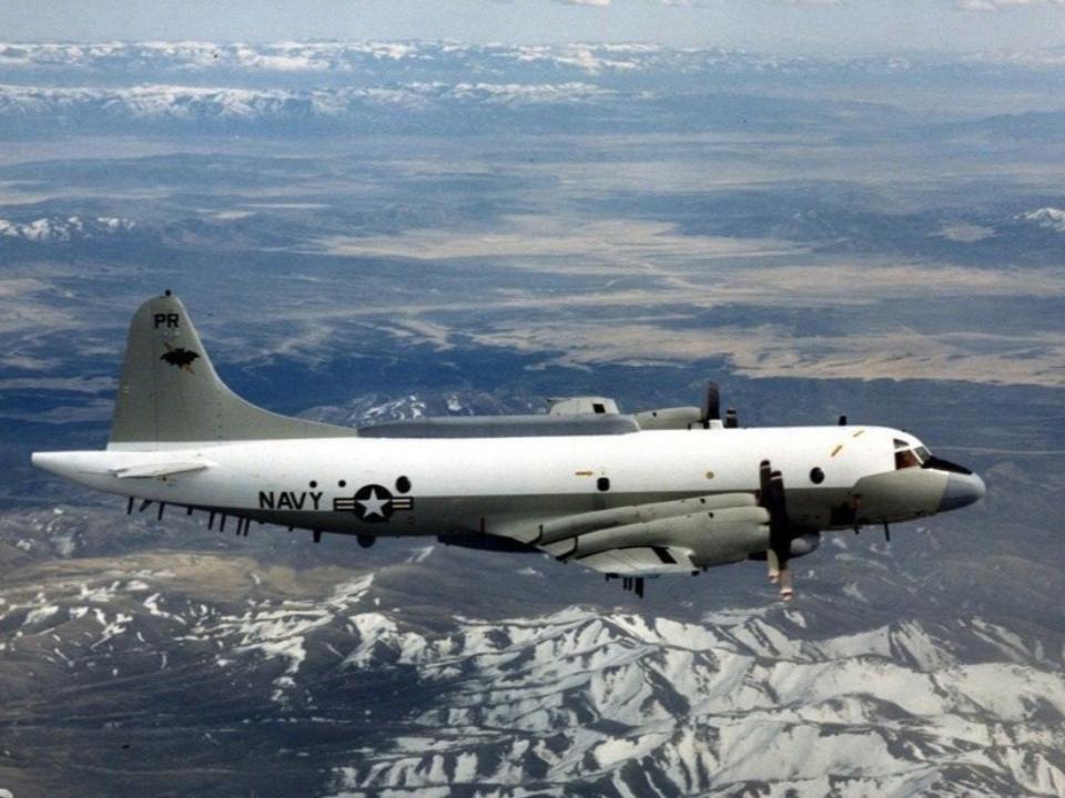 美軍電偵機EP-3E 現蹤台灣南部海域